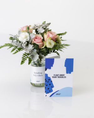 LVLY Float + flowers