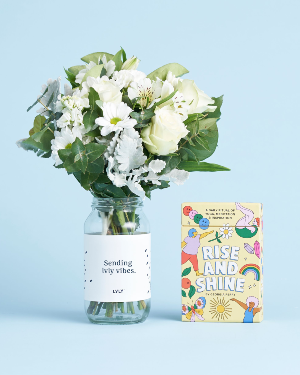 LVLY Flowers & Yoga Cards